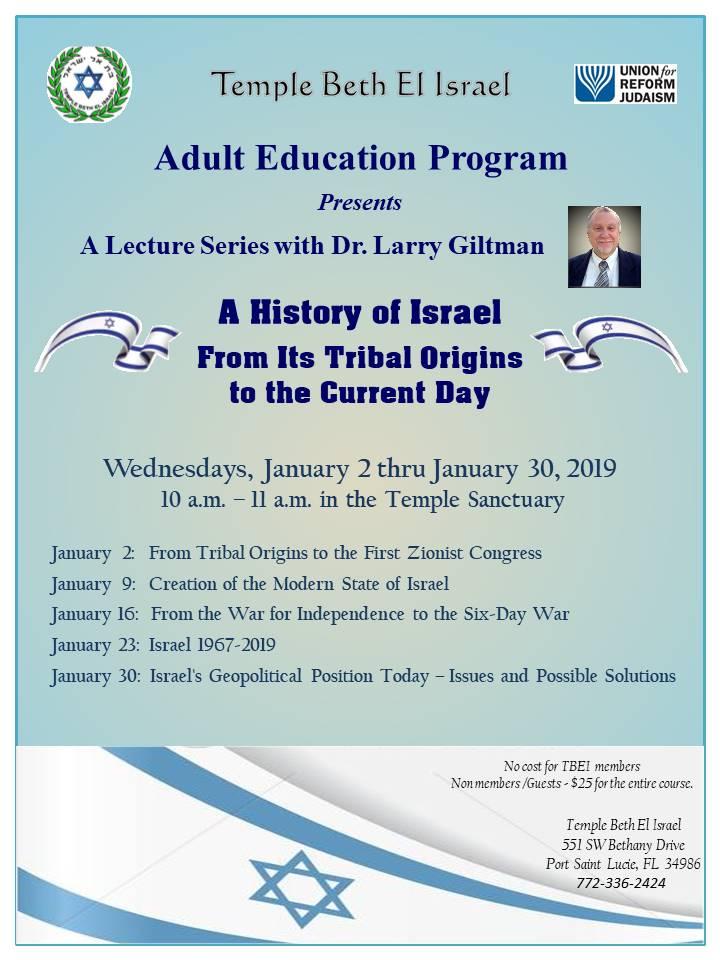 Adult Ed Schedule LG Jan 2019