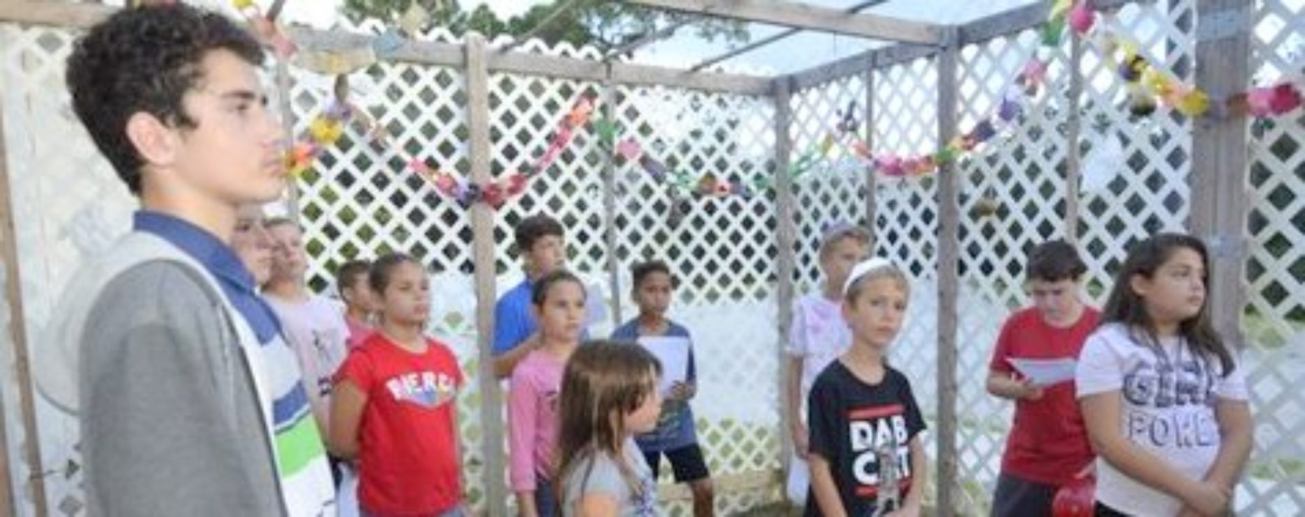 Our Children in Sukkah
