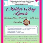 Mother's Day Brunch, May 12, 2019